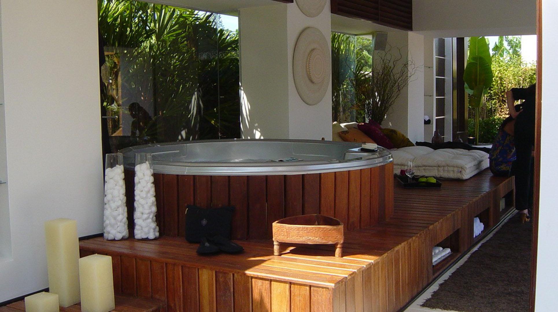 gazebo da piscina deck marcenaria móveis sob medida