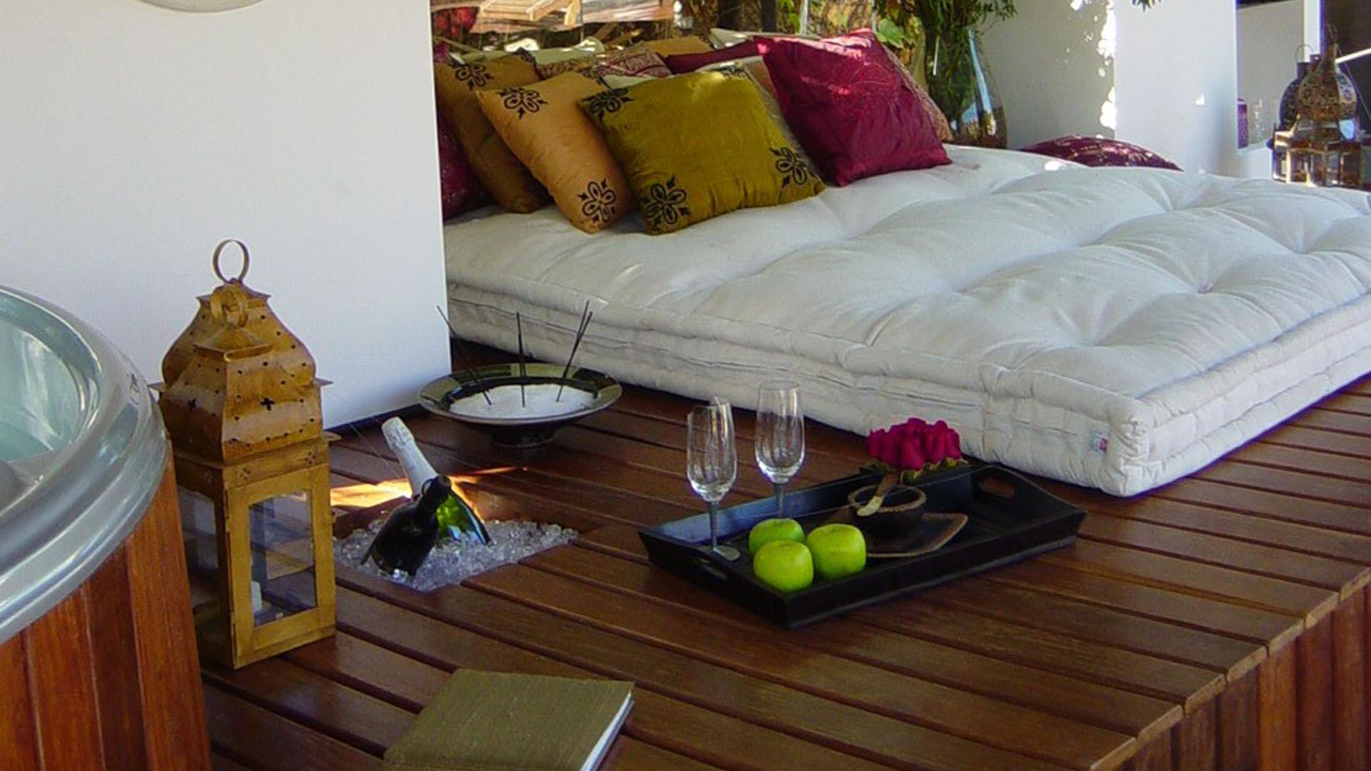 gazebo da piscina deck marcenaria móveis sob medida futon