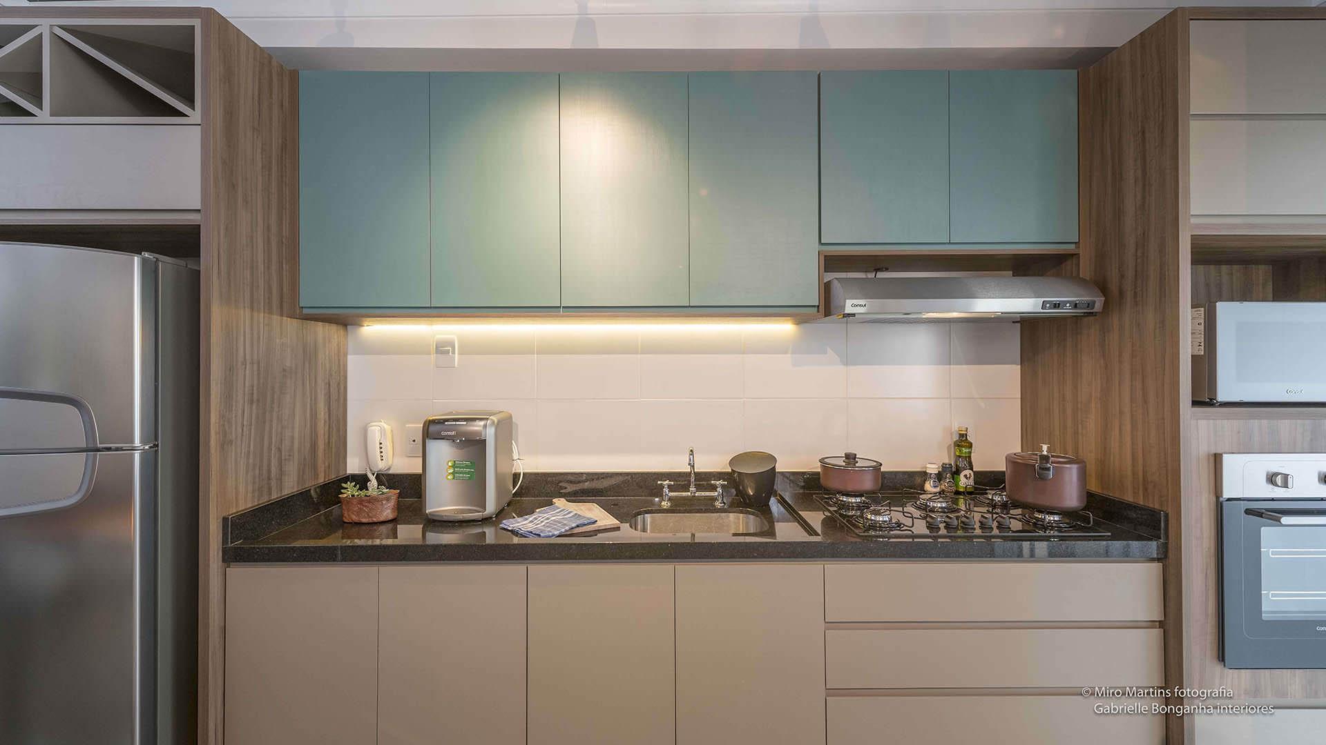 Cozinha M Veis Planejados Pequeno Apartamento Espa O Pleno M Veis