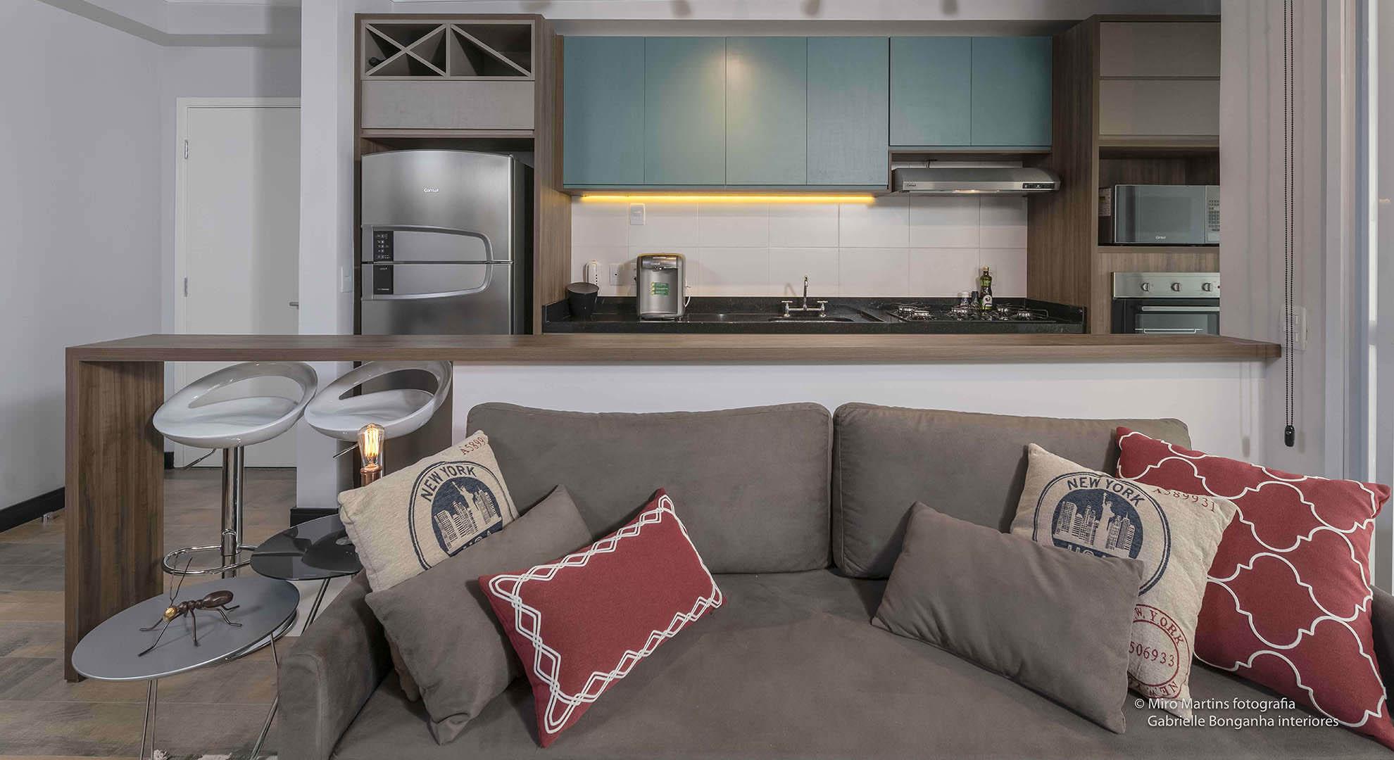 Cozinha Planejada Para Apartamento Pequeno Espa O Pleno M Veis