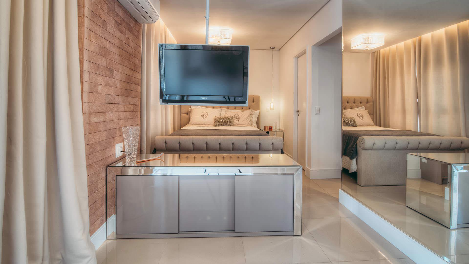 Pequeno Apartamento Conceito Aberto Espa O Pleno M Veis Planejados -> Fotos De Cozinha Conceito Aberto